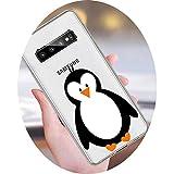 Cute Christmas Penguin Cartoon Phone Case for Samsung Galaxy A3 A5 A6 A7 A8 A10 A20E A30 A40 A50 A70...