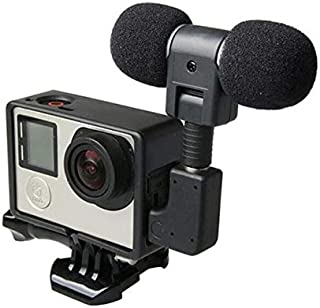Mini Stereo Microphone & Frame Mount for GoPro 3, 3+ & 4