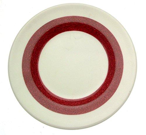 Wedgwood marbré Rouge bordeaux 15,2 cm plaque