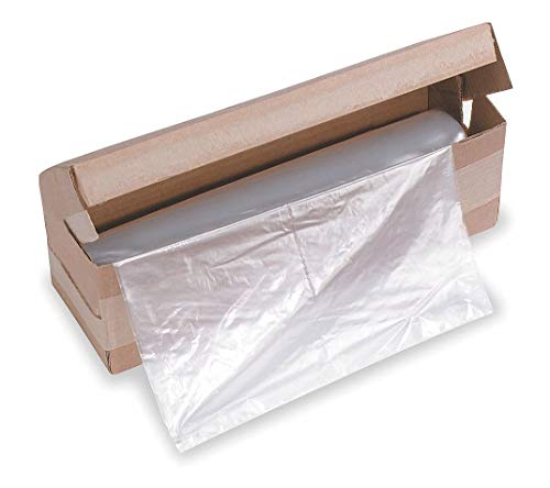 Best Prices! HSM Classic 110 gal. Shredder Bags, Clear Plastic, pkg. of 50