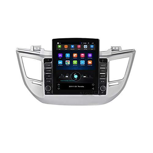 Per Hyundai Tucson 2014-2018 Android Autoradio Car Navi Sistema stereo Sistema Stereo 9.7'Touch GPS Navigator Display Media Player Support Screen Specchio Bluetooth Carplay Volante Controllo,Ts100