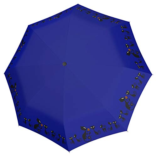 Doppler Fiber Magic Cats Blue Regenschirm Umbrella Schirm mit Doppel Automatik 7441465C01