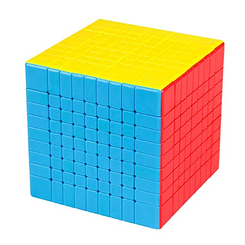 LiangCuber Moyu Meilong 9X9 Speed Cube Stickerless MoYu MoFang JiaoShi MFJS MEILONG 9X9X9 Cubing Classroom 75mm Size Magic Cube Puzzle