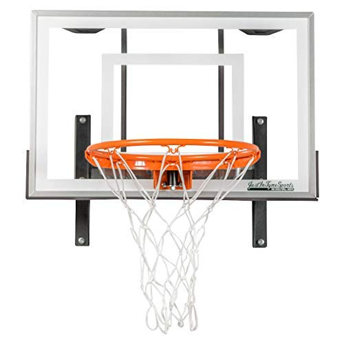 JustInTymeSports Wall Mounted Mini Basketball Hoop - Mini Pro Xtreme Hoop Set