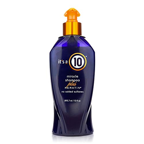 It's A 10! It's A 10! Miracle Shampoo Plus Keratin Ohrstöpsel 10 centimeters Schwarz (Black)