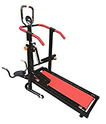 Leeway Manual Jogger Treadmill| Roller Jogging Machine For Home