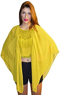 Hipster Dbb3Cmu-S Tunic Top For Women - S, Mustard