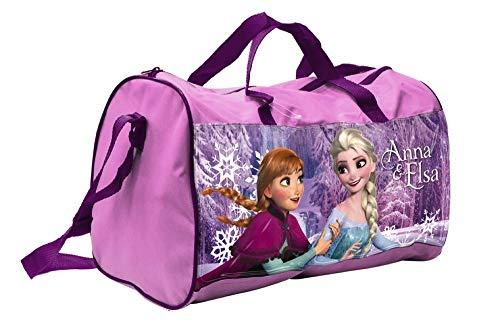 BORSA Borsone Frozen Elsa Anna Disney Tote da Viaggio Bambina Palestra CM. 38X20 H.23 - 57883