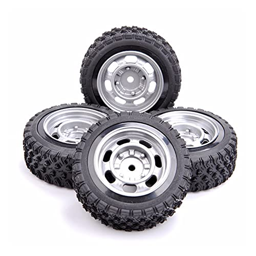 UJETML (H) Neumáticos RC Crawler 12mm Hex CARRILLOS DE Coches Y Modelo DE Ruedas Piezas DE Accesorios Ajustar para 1/10 RC Piezas de Modelo de automóvil Neumáticos RC Slash 4x4 Neumáticos