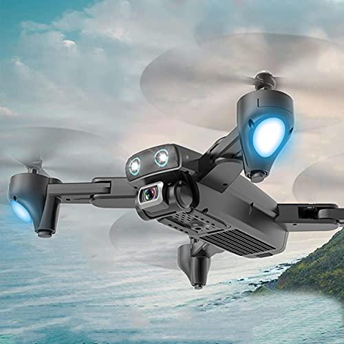 GZTYLQQ Drone Plegable con cámara 4K HD Fotografía aérea Gran Angular 5GHz FPV Posicionamiento Inteligente GPS Retorno automático WiFi Quadcopter Modo sin Cabeza Control Remoto Plano 2.4G
