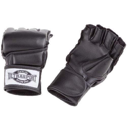 Ultrasport Freefight MMA Handschuhe, Schwarz, XL, 331500000011