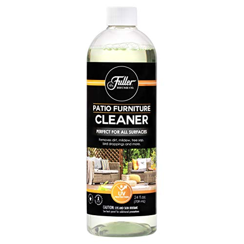 Fuller Brush Patio & Outdoor Furniture Cleaner - Removes Dirt, Tree Sap, Bird Droppings, Food and More - UV Protection - Perfect for All Surfaces - 24 Fl. Oz. (Refill Bottle)