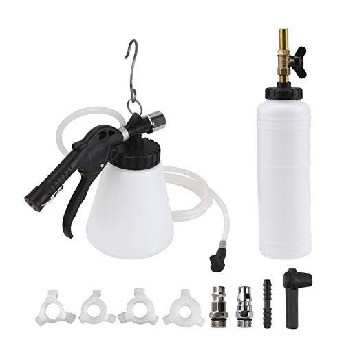 QPY Herramienta de reemplazo de Aceite de líquido de Frenos de Coche Bomba de automóvil Universal Purgador de Aceite Kit de Drenaje vacío