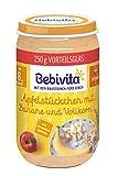 Bebivita Frucht und Getreide Apfelstückchen mit Banane und Vollkorn, 6er Pack (6 x 250 g)