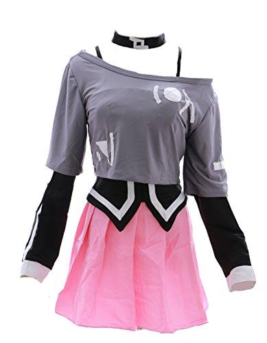 Kawaii-Story MN-h-3003 Vocaloid IA Cosplay Kostüm Costume Set Kleid Dress uniform (Japan Size S)