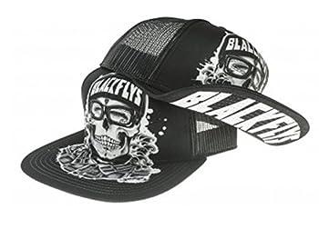 Black Flys Hat Cap Hawaii Plate Cali California Plate Ca Custom Patch Trucker  Backyard Homie Flip-Bill Trucker Black