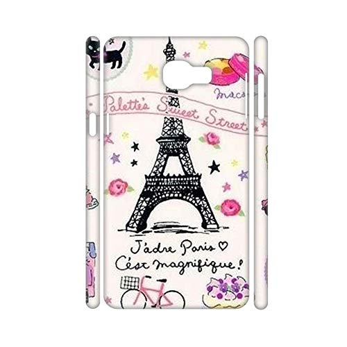 with Eiffer Tower Stamp Shells Hard Pc Children Specificity Use On A5 A8 2018 Samsung Choose Design 62-1