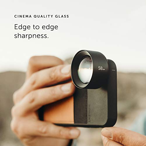 Moment - Tele 58mm Lens for iPhone, Pixel, Samsung Galaxy and OnePlus Camera Phones