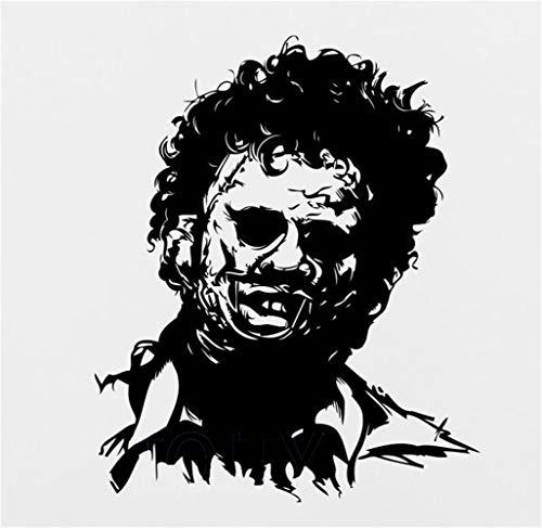 Wandaufkleber Schlafzimmer Leatherface Texas Kettensäge Maniac Aufkleber Horror Decor Movie Poster Wandbild Für Jungen Schlafzimmer wandaufkleber 3d