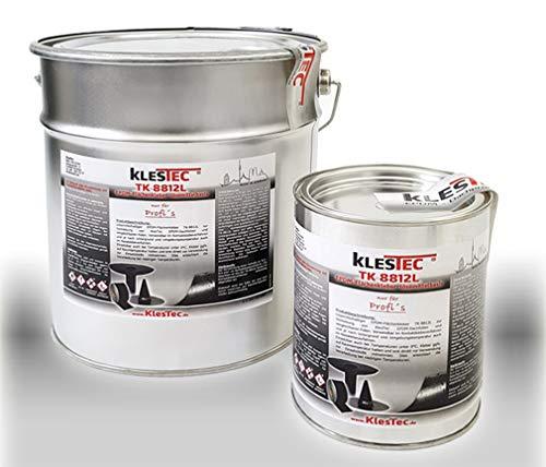 TK-8812L EPDM Kleber für Dachfolie Flächenkleber, Kontaktkleber Lösemittelbasis Dach Folie Wasser (1 Liter)