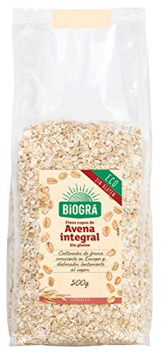 Biográ Copos de Avena sin Gluten Finos Ecológicos, 500g