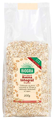 Biográ - Copos de Avena sin Gluten Finos Ecológicos (500 g)
