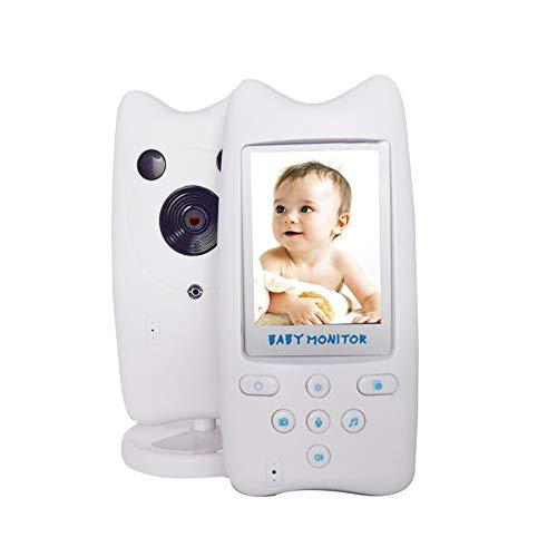 OWSOO Vigilabebé Inalámbrico 2.4GHZ Monitor de Bebé Inalámbrico Digital Sistema de Respuesta Bidireccional Voz Clara Fácil de Operar