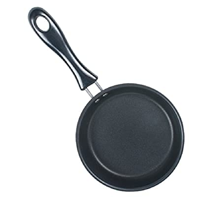 "Tinsay Mini Egg Pancake Egg Frying Pan Nonstick Specialty Nonstick One Egg Fry Pan-4.8"" Blue"