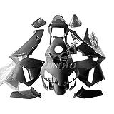 ZXMOTO Matte Black ABS Plastics Bodywork Body Set fits for 2003 2004 Honda CBR 600 RR Fairings Kit Injection Mold Fairings
