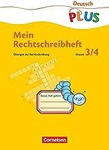 Mein Rechtschreibheft. RSR. Übungen zur Rechtschreibung im 3. und 4. Schuljahr. (Lernmaterialien)