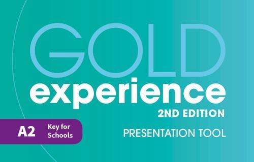 Gold experience. A2. Classroom USB. Per le Scuole superiori. Con espansione online