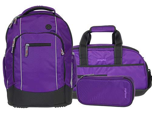 Syderf naps Schulrucksack Lotus 73 purple