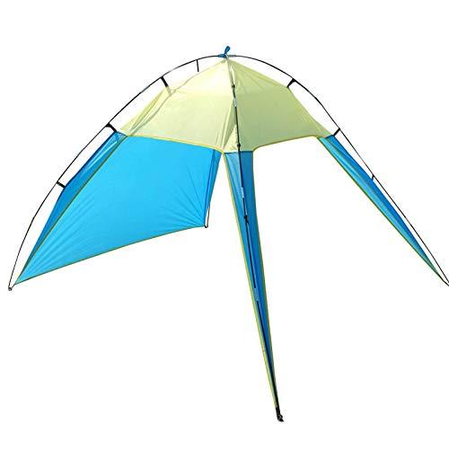 Xuanshengjia Costura Al Aire Libre Al Aire Libre, Refugio De La Playa Tienda De Sombra, Camping, Senderismo, Pesca, Ligero, Portátil, Transpirable para Viajes De Camping De Pesca