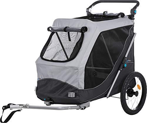 TRIXIE Fahrrad-Anhänger, Schnell-Falt-Funktion