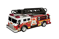"oy State 14"" Rush And Rescue Police And Fire - Hook And Ladder Fire Truck"
