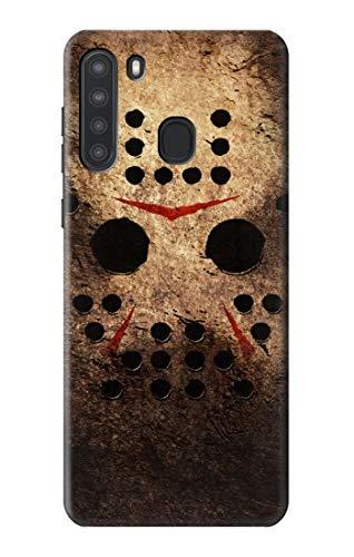 R2830 Horror Hockey Case Cover for Samsung Galaxy A21
