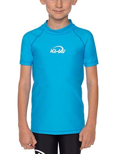 iQ-UV Mädchen UV-Shirt 300 UV-Schutz T-Shirt, Türkis (Hawaii), 164/170 (Herstellergröße: 164/170)