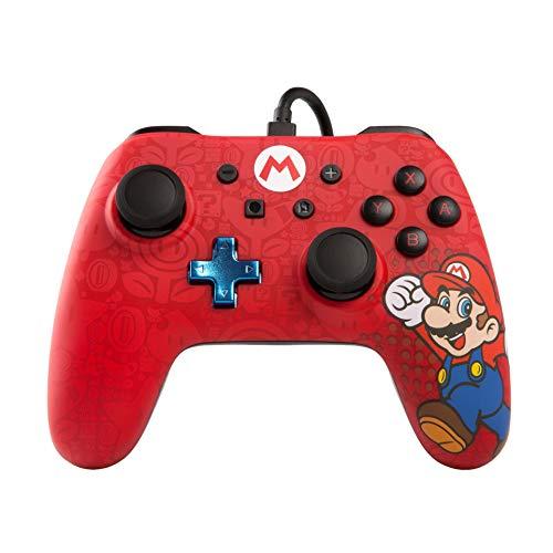 PowerA Erweiterter kabelgebundener -Controller für Nintendo Switch – Mario