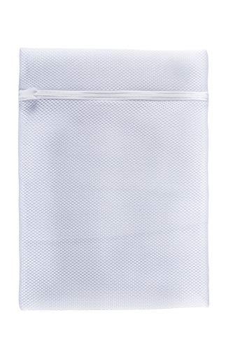 Meliconi Bianco salvabucato, Sacchetti per Proteggere Il bucato con Speciale Double Washing Mesh, Colore, Small e Medium