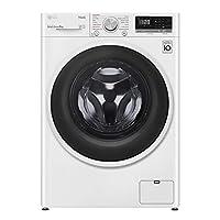 lg f4wt408aidd lavatrice a carica frontale 8 kg, libera installazione, 1400 giri/min, classe a+++ -40%, intelligenza artificiale, funzione vapore, 60 x 56 x 85 cm - bianco