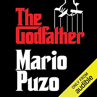 The Godfather                   By:                                                                                                                                 Mario Puzo                               Narrated by:                                                                                                                                 Joe Mantegna                      Length: 18 hrs and 5 mins     185 ratings     Overall 4.9