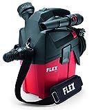 Flex 481491 Compatto VC MC 18.0 (aspirapolvere 18 V, 1400 l/min, Contenitore 6 l, con Accessori, Senza Batteria, Classe L)
