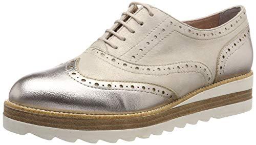 Tamaris Damen 1-1-23717-22 192 Sneaker, Weiß (Champagne Met. 192), 39 EU