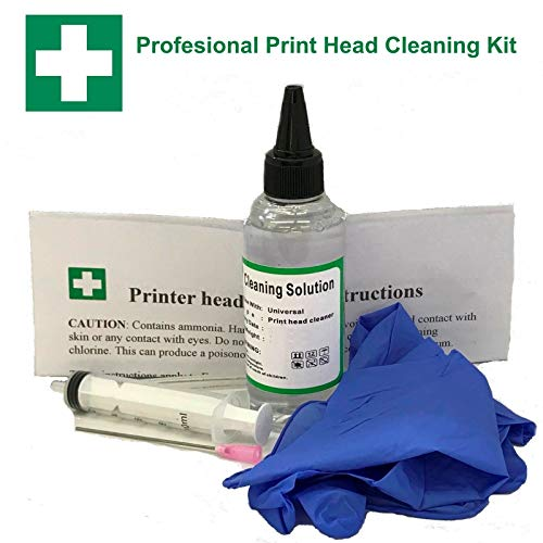 Price comparison product image Inkjet PrintHead Cleaner for Epson WF-7610 WF-7620 WF-7110 WF-2660 WF-2630 Printers 125ml 4oz