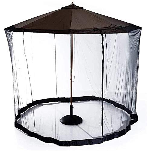 SHBV Coaster - Cubierta portátil para Mosquitos para jardín Patio con diseño a Prueba de Insectos Cubierta de Malla con Cremallera para Acampar en Interiores y Exteriores excluyendo Paraguas