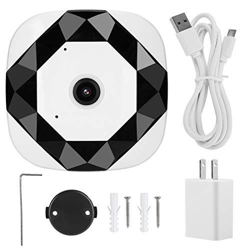 Cámara panorámica 960P Cómoda de usar Diseño profesional Monitoreo panorámico de 360 ° Movimiento de la cámara WiFi(US standard 100-240V)
