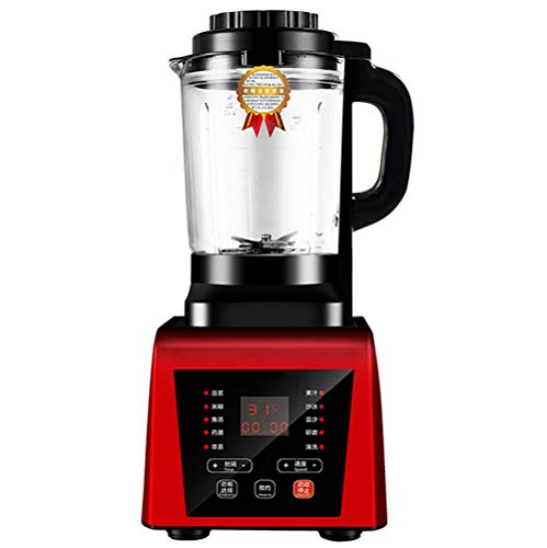 Blender, Smoothie Blender 1250W for Ice Crushing with 7-Speed (45000 r/min) and 9-Programs Setting, 62 OZ Glass Jar & 8Titanium Alloy Blades & Stainless Steel Housing Base,A