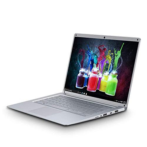 Notebook PC Portatile Nuovo in Offerta 14.1 Pollici HD 2GB RAM 32GB ROM LapTop V mobile P16, Portatile Windows 10 Quad Core Intel 5000mAh Batteria Dual WIFI Disco Rigido da 500GB (Argenteo)