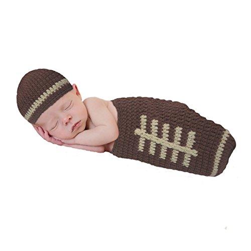 crochet football hat - 6