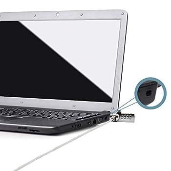 TRIXES Câble de Sécurité avec Verrou à Code Combinaison pour Ordinateur Portable